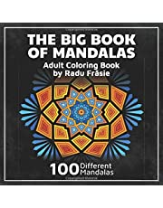 The Big Book of Mandalas: Adult Coloring Book