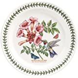 PORTMEIRION BOTANIC GARDEN BIRDS Dinner plate ruby-throated hummingbird