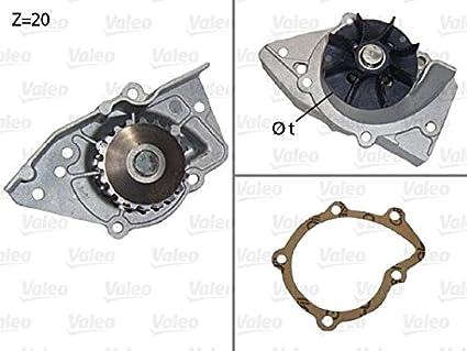 Amazon.com: Water Pump VALEO Fits CITROEN FIAT PEUGEOT 306 RENAULT SUZUKI 1.7-2.0L 1987-: Automotive