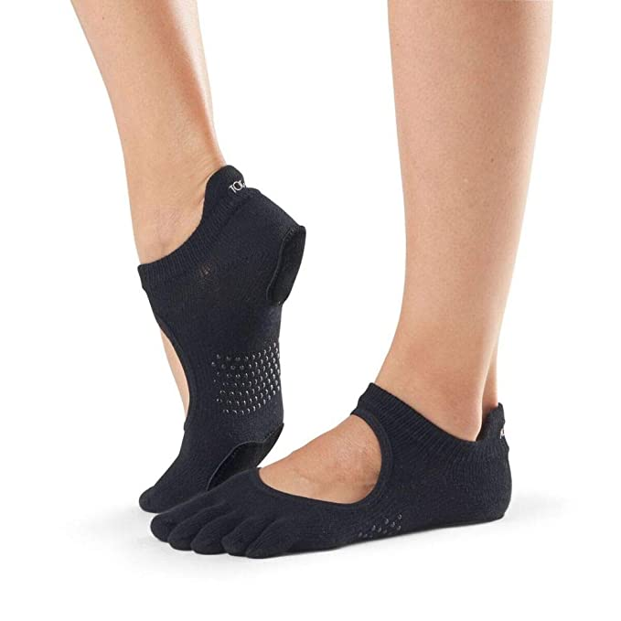 Amazon.com: Toesox de la mujer Prima bellarina Full Toe Grip ...