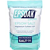 Epsoak Epsom Salt 19.75 Lbs - 100% Pure Magnesium Sulfate, Made in USA