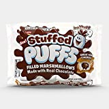 Stuffed Puffs, Chocolate Filled Marshmallows (10 oz bag, Pack of 2)