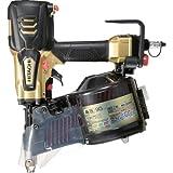 日立工機 高圧ロール釘打機 メタリックゴールド 針金45~90mm シート45~50mm 品確法・2×4対応 NV90HR(S)
