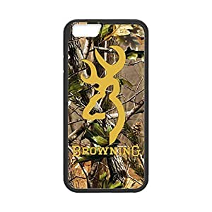 Browning for iPhone 4s Case Cover 014s4s43 Laser Print Technology with Shockproof Protection Rubber Sides