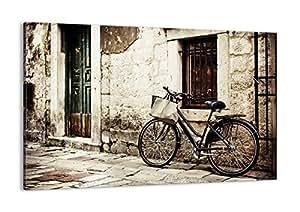 Cuadro sobre lienzo - de una sola pieza - Impresión en lienzo - Ancho: 120cm, Altura: 80cm - Foto número 2667 - listo para colgar - en un marco - AA120x80-2667