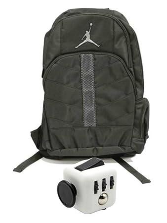 dd69d58bd7fe Nike Air Jordan Boys Black Mesh Overlay 23 Backpack Book Bag + FREE FIDGET  CUBE  Amazon.co.uk  Sports   Outdoors
