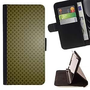 Momo Phone Case / Flip Funda de Cuero Case Cover - Simple patrón 9 - Samsung Galaxy S6 Edge Plus / S6 Edge+ G928
