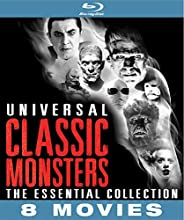 Universal Classic Monsters: Essential Collection [Blu-ray] [Importado]