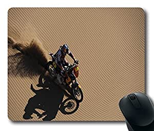 "Redbull Racing deserts ktm motorbikes racing Customized Mousepad Oblong Design Mouse Pad Picture Printing in 220mm*180mm*3mm (9""*7"") -82605"