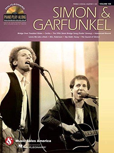 Simon & Garfunkel: Piano Play-Along Volume 108 (American Song Classics Flute)