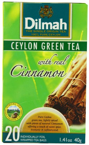 dilmah-tea-ceylon-green-tea-with-cinnamon-20-count-foil-wrapped-tea-bags-pack-of-6