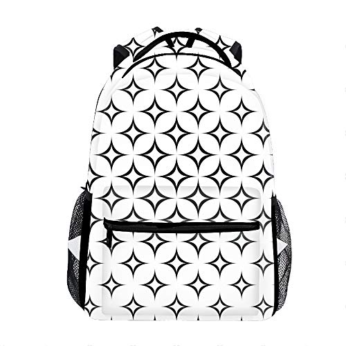 Casual Backpack Star Print School Bag Travel Backpacks ()
