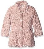 Calvin Klein Little Girls' Faux Fur Jacket, Light Pink, 5