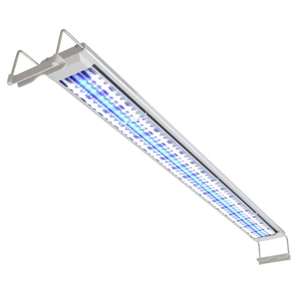 Binzhoueushopping Lampada LED da Acquario 100 – 110 cm Alluminio IP67, Lampada LED Acquario