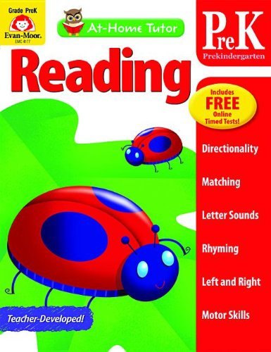 Download At-Home Tutor: Reading, Grade Pre-K PDF