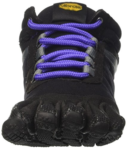 Trek Multisport Black Vibram Ascent Insulated Noir Femme Outdoor Chaussures Violet FiveFingers Purple X4xaaqfw5