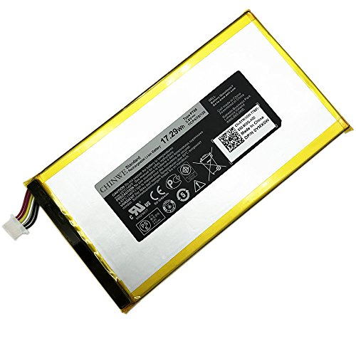 P708 New Laptop Battery For DELL Venue 7 3740 8 3840 0YMXOW Tablet (3.8V 17.29Wh) by CHINWE