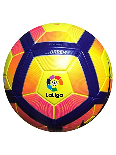 Nike ordem 4 LFP la liga Spanish League Official Match Ball Soccer Ball Hi-Viz by NIKE