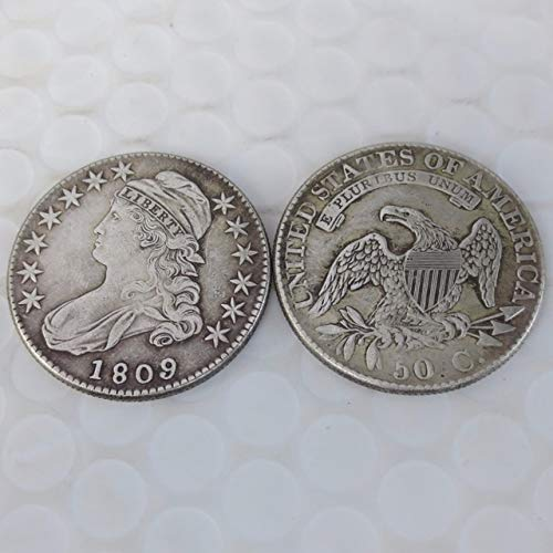 BeesClover 1809 Capped Bust Half Dollar Coin Copy Show