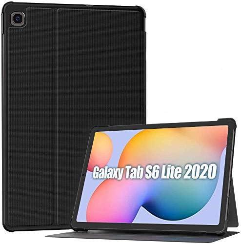 Supveco Coque pour Samsung Galaxy Tab S6 Lite 10.4 2020, résistante aux chocs, coque arrière rigide en polycarbonate avec fonction veille/réveil ...