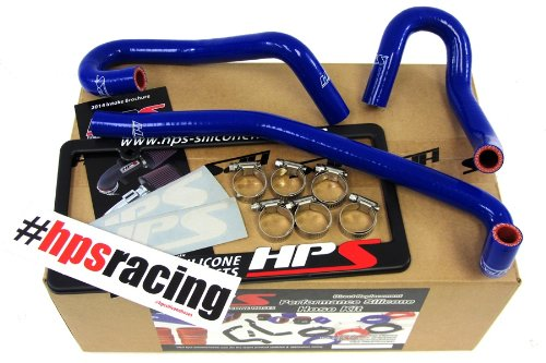 HPS 57-1340-BLUE-1 Blue Silicone Heater Hose Kit (Coolant)