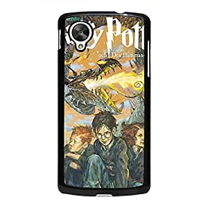 Cartoon Series Harry Potter Phone Case For Geogle Nexus 5,Harry Potter Geogle Nexus 5 Case,Black Hard Plastic Case