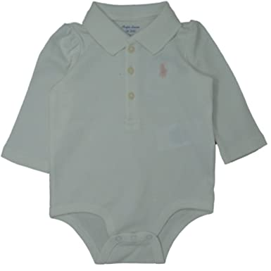 Ralph Lauren Genuine Polo Baby Girls Bodysuit 6 Mths Amazon Co Uk