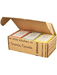 Crate 61 Best Seller Soap 6-Pack Box Set, 100% Vegan Cold Process Bar Soap, scented with premium essential oils and natural flavors, for men and women, face and body.