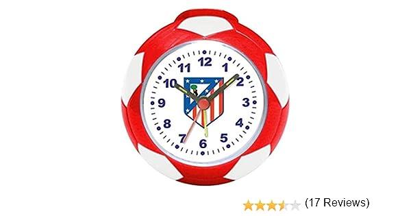Atlético de Madrid Seva 4902004, Reloj despertador, Multicolor ...
