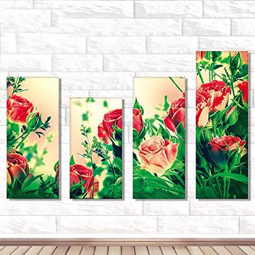 Home & Garden Square Flower Clock 3d Ribbon Embroidery Bedroom Living Room Hanging Painting Cross Stitch New Diamond Every Dog Has His Day Aesthetic Appearance