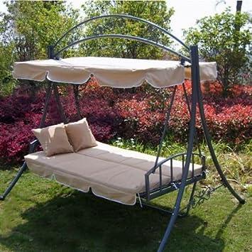 Amazon.de: Luxus Loywe Hollywoodschaukel Gartenschaukel mit ...
