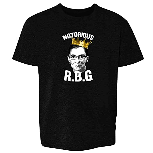 7dcdd3e4 Amazon.com: Notorious R.B.G. RBG Supreme Court Political Toddler Kids T- Shirt: Clothing