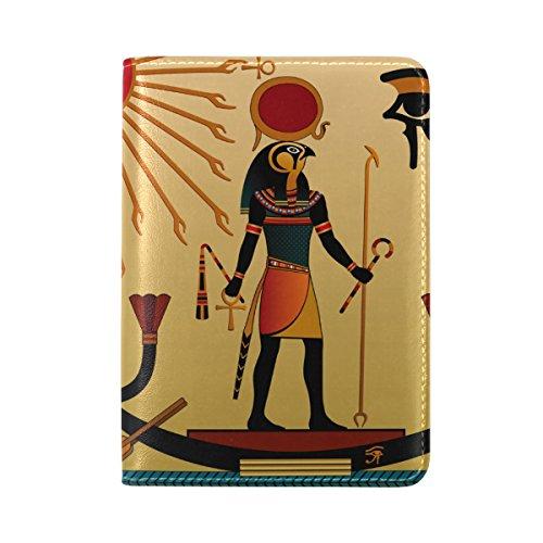 Loofah Dog Costume (Egyptian Decor Leather Passport Cover - Holder - for Men & Women - Passport Case)