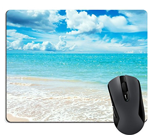 Supwek Sunny Day Mouse Pad, Mousepad (Beaches Mouse Pads)