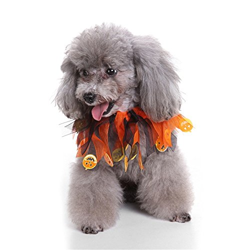 Halloween Pet Dog Cat Puppy Costumes Clothes Dressing Up Party (L, 6) -
