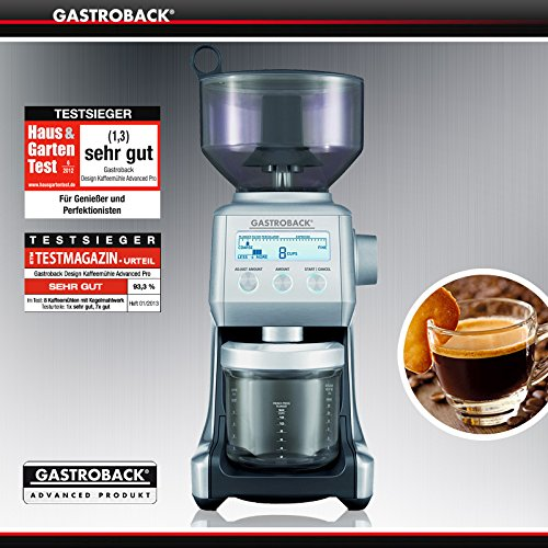 Gastroback oferta - máquina de café Espresso diseño Advanced Control + diseño molinillo de café Advanced Pro: Amazon.es: Hogar