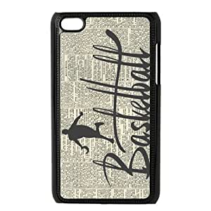Danny Store Protective Hard PC Cover Case for iPod Touch 4, 4G (4th Generation), Basketball