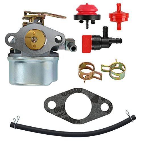 mdairc 640084B Carburetor for Tecumseh 5HP MTD 632107A 632107 640084 640084A For TORO 521 Snow Blower HSSK40 HSSK50 HS50 LH195SA - For Tecumseh 632107 Carburetor LH195SA) by mdairc