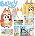 Bingo SHOWBAG - from Bluey Kids Show - Inc. Backpack , Drink Bottle, Headband, Markers , Memory Game , Placemat , Projector Torch , Tote Bag