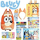 Bingo SHOWBAG - from Bluey Kids Show - Inc. Backpack , Drink Bottle, Headband, Markers , Memory Game , Placemat…