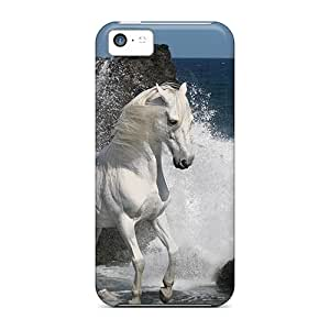 Anti-scratch And Shatterproof Enjoying Sea Waves Phone Cases For Iphone 5c/ High Quality Cases