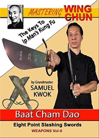 BAT CHAM DAO Wooden Wing Chun Butterfly Swords