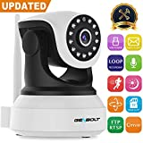 Wireless WiFi IP Security Camera - GENBOLT 1080P indoor Dog Baby Monitor Camera