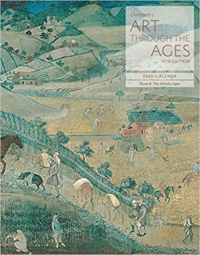 bundle gardners art through the ages backpack edition book b the middle ages 15th mindtap art 2 terms 12 months printed access card