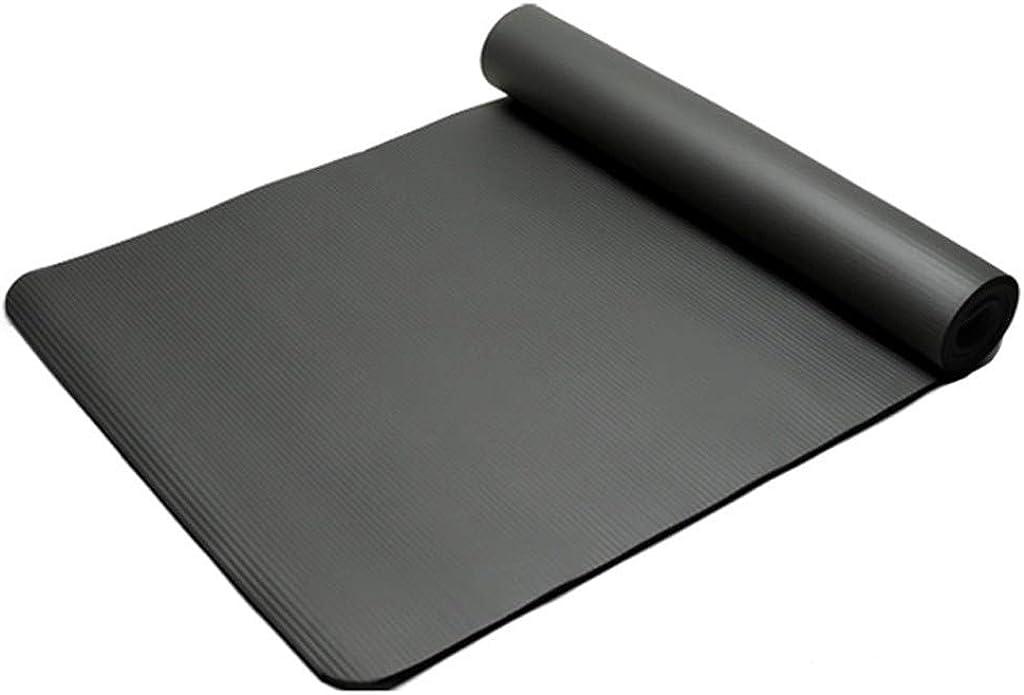 Weant Yogamatte Fitness Gymnastikmatte Extra Dick mit Tragegurten Aerobic Perfekt f/ür Yoga Bauchmuskeln Camping rutschfest Boden/übungen Stretching 60 x 25 x 1,5 cm Pilates