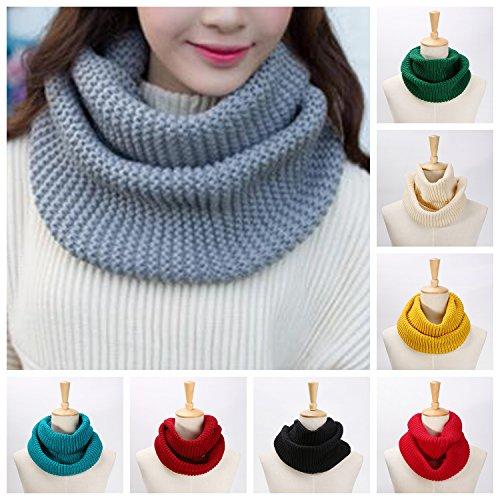Landisun Womens Ribbed Winter Infinity product image