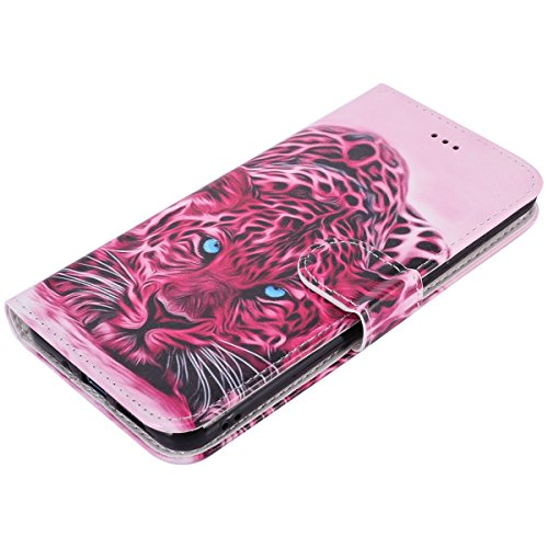 Portefeuille Coque Huawei Housse etui pour Herbests Protection Etui Lite Cuir Huawei Lite avec Fonction P10 Cuir en Pochette en de Stand téléphone pour P10 Lite Coque Tête R de Léopard P10 Huawei Housse Magnetique de nAxqw0vZ1