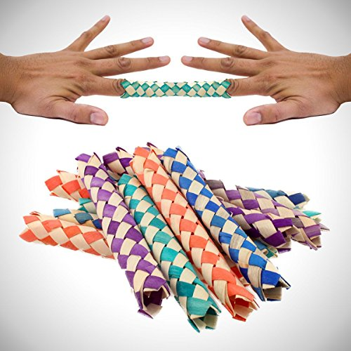 Finger Traps - 12 Pack (Chinese Finger Trap)