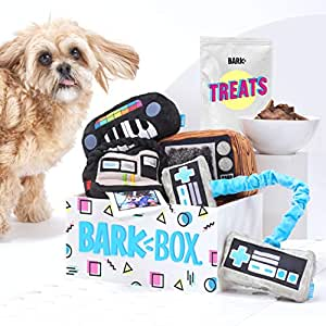 Pet Supplies : BarkBox Supersized 90s Throwback Electronic