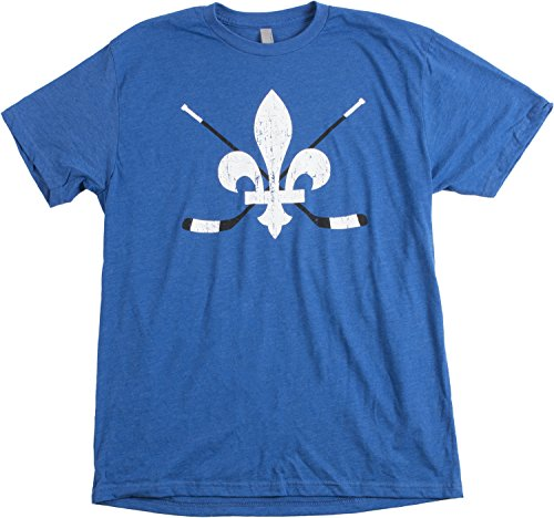 Fleur-de-lis Hockey | French Canadian Quebec, Quebecois Montreal Unisex T-shirt